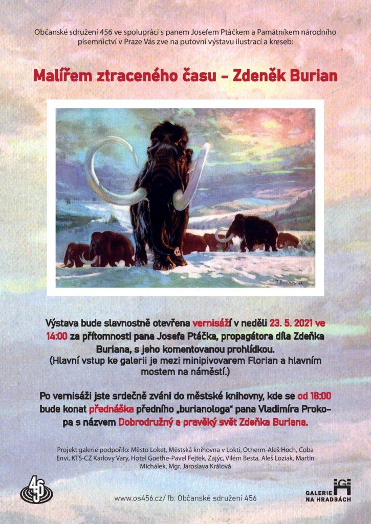 Pozvanka_Malířem ztraceného času - Zdeněk Burian-page-001